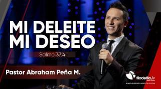 Embedded thumbnail for Mi deleite, mi deseo - Abraham Peña Jr.