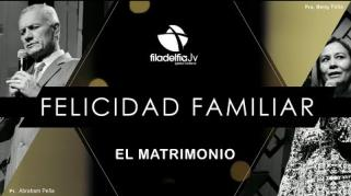Embedded thumbnail for El Matrimonio - Pastores Abraham y Betty Peña - La Felicidad Familiar