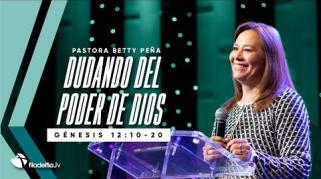 Embedded thumbnail for Dudando del poder de Dios - Betty Peña