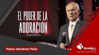 Embedded thumbnail for El poder de la adoración - Abraham Peña - Lecciones de vida