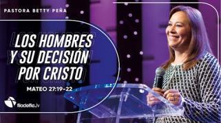 Embedded thumbnail for Los hombres y su decisión por Cristo - Betty Peña