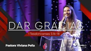Embedded thumbnail for Dar gracias - Viviana Peña