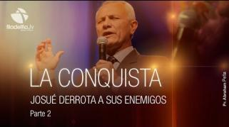 Embedded thumbnail for Josué derrota a sus enemigos 1 - Abraham Peña - La conquista